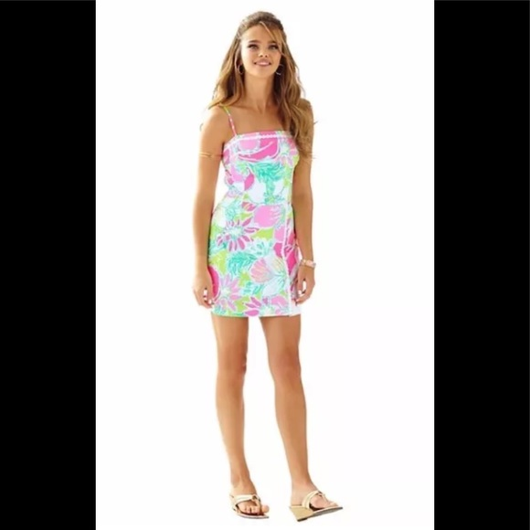 e55290293423 Lilly Pulitzer Dresses   Skirts - LILLY PULITZER JESSE ROMPER DON T GIVE ...